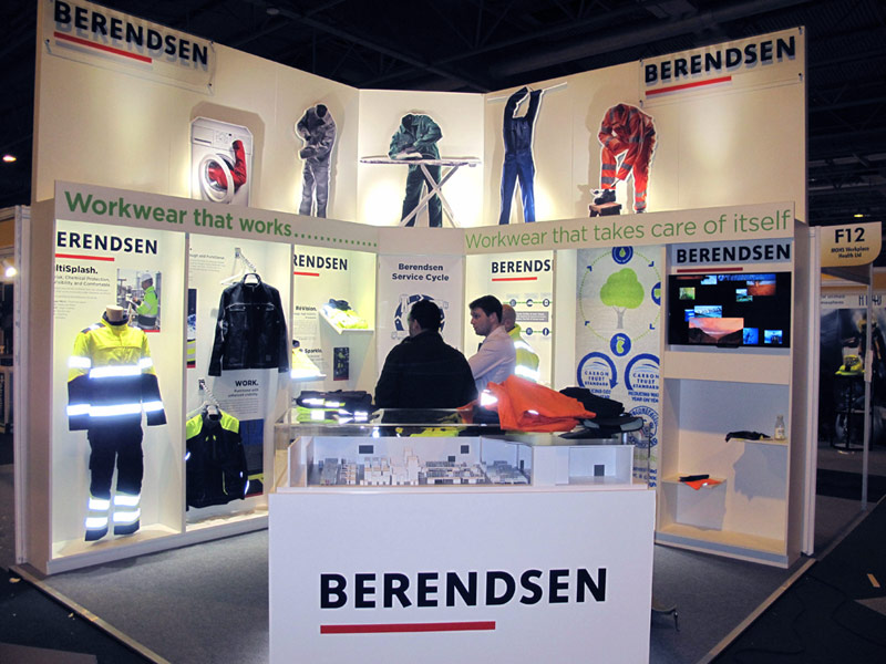Corner Exhibition Stands Out : Exhibition stand design and build nutcracker exhibitions