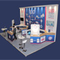 TPP NHS Stand Design - Nutcracker Exhibitions