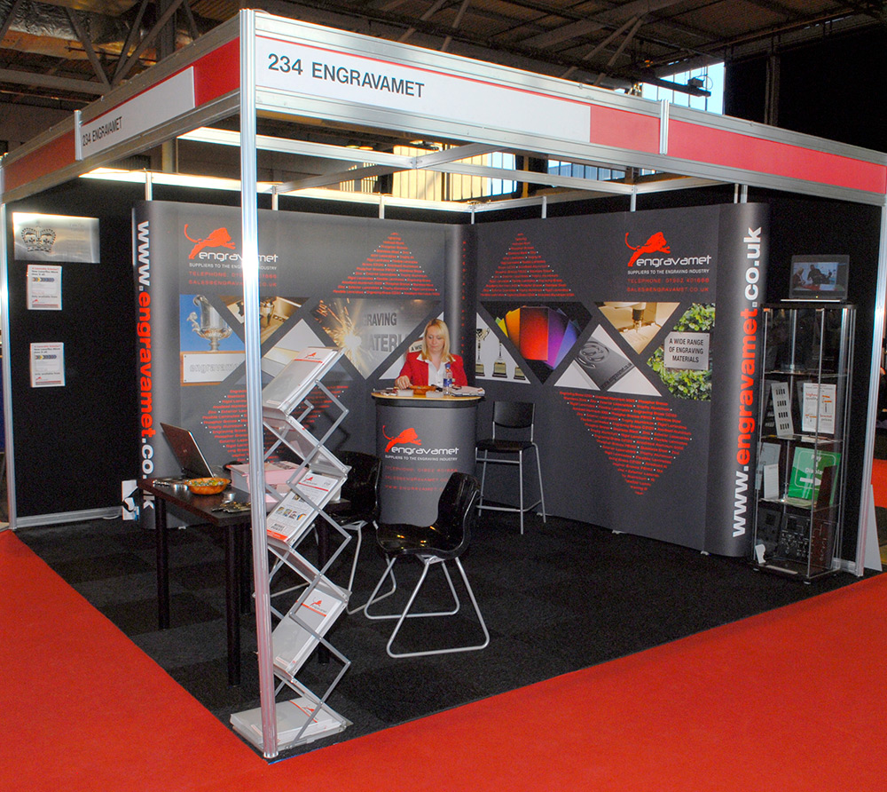Shell Scheme Exhibition Stands : Exhibition stand design and build nutcracker exhibitions