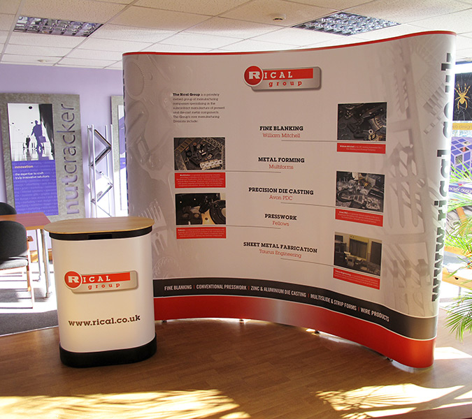Pop Up Exhibition Stand Design : Exhibition stand design and build nutcracker exhibitions